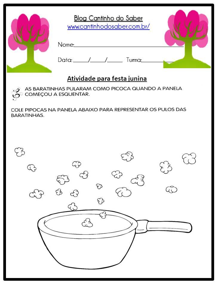 Atividade Sobre a Festa Junina Para a Educação Infantil (3)