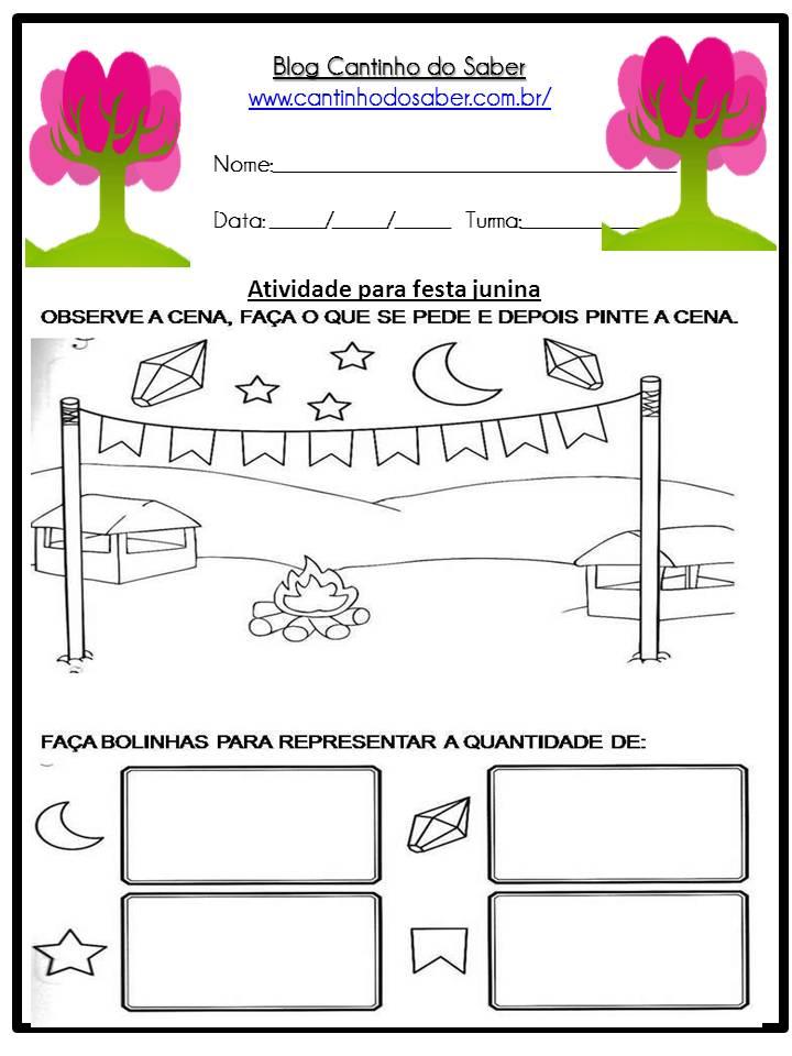 Atividade Sobre a Festa Junina Para a Educação Infantil (33)