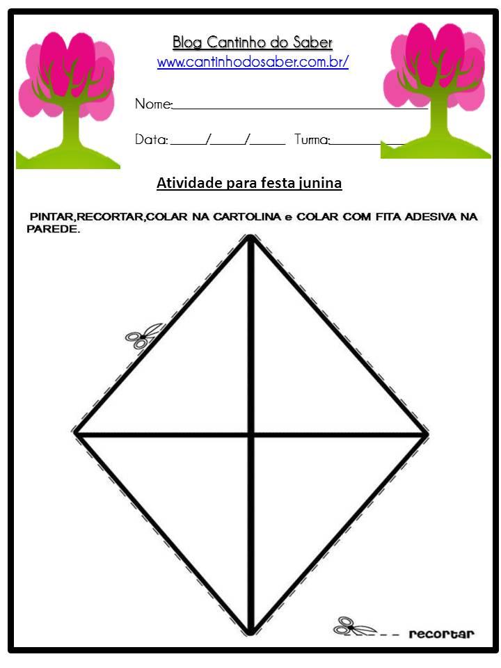 Atividade Sobre a Festa Junina Para a Educação Infantil (6)