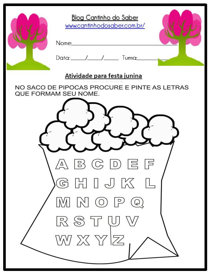 Atividade Sobre a Festa Junina Para a Educação Infantil (8)