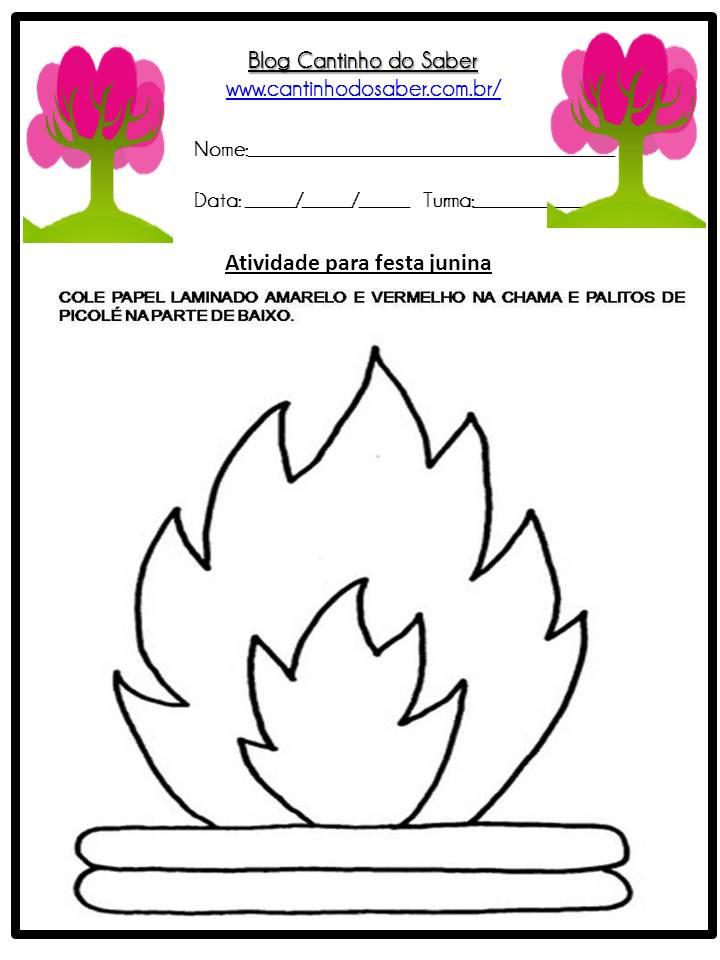 Atividade Sobre a Festa Junina Para a Educação Infantil (9)