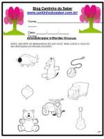 Atividades  para a educação infantil do dia das crianças