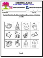 Atividades para o Natal – Educação Infantil