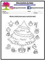 Dedoches e atividades para o natal – Educação Infantil