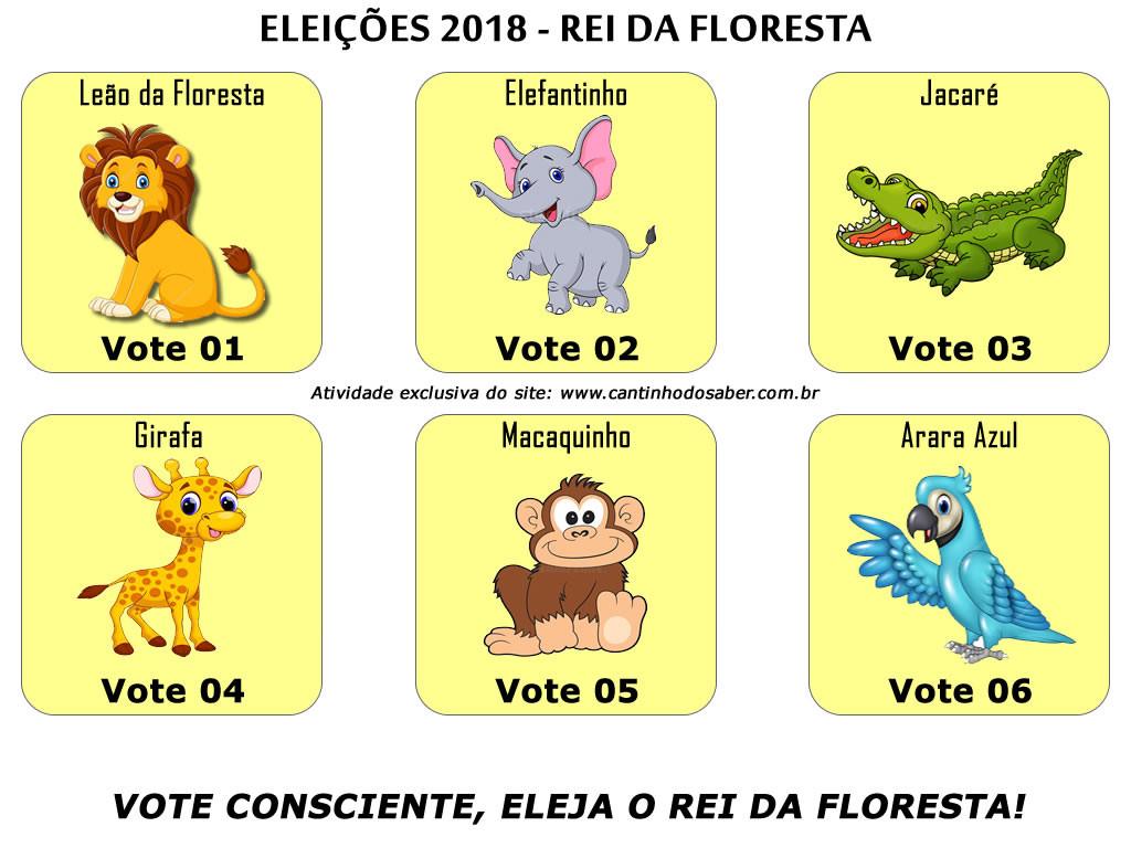 Eleições 2018: o rei da floresta