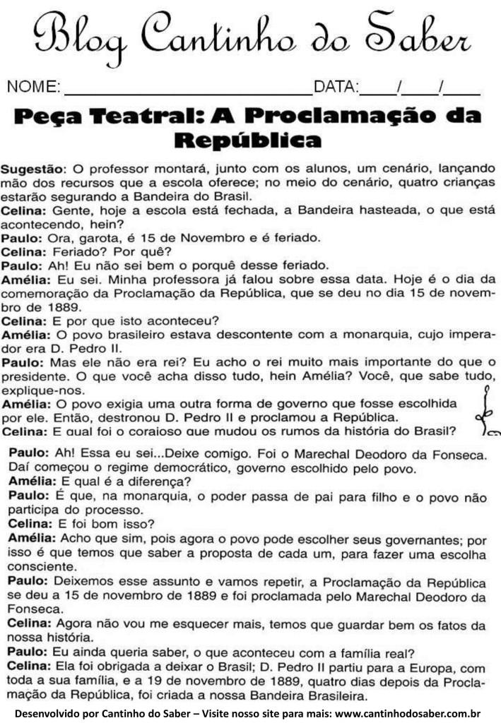 Atividades da proclamação da república (11)