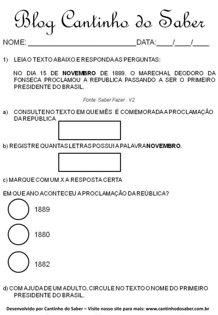 Atividades da proclamação da república (5)