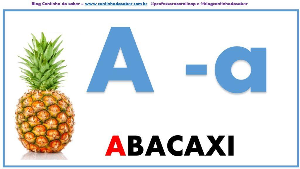 Alfabeto De Parede Com Imagens Reais Atividades Para A Educacao