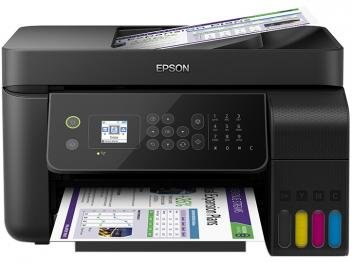 Impressora Multifuncional Epson EcoTank L5190 - Tanque de Tinta Colorido Wi-Fi USB