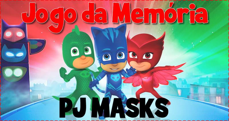 Jogo da Memória - PJ Masks - Para baixar grátis