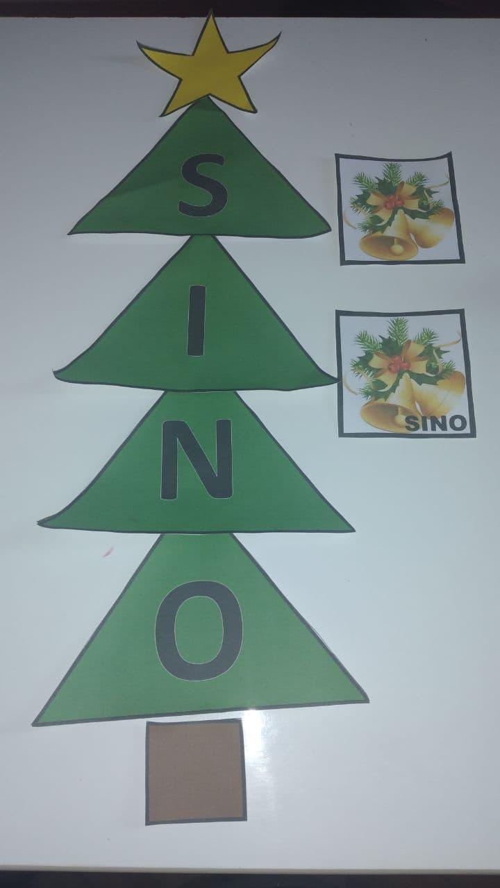 Ideias de atividades para trabalhar o Natal de forma lúdica - Arvore dos objetos