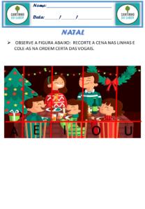 atividades de natal para imprimir educação infantil