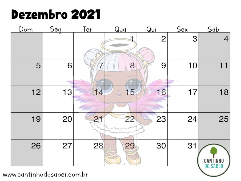 calendario lol surprise dezembro 2021