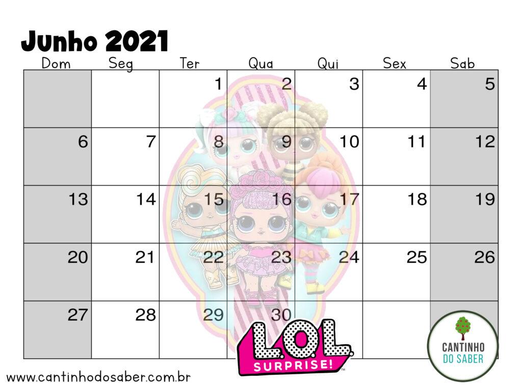 calendario lol surprise junho 2021