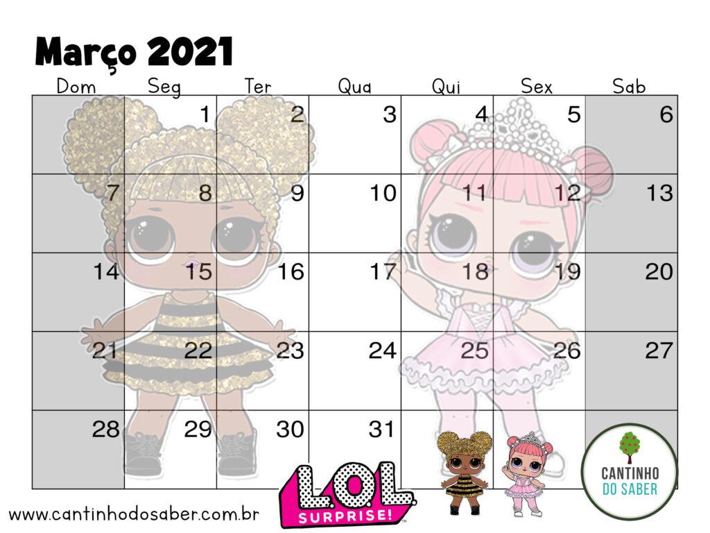 calendario lol surprise marco 2021