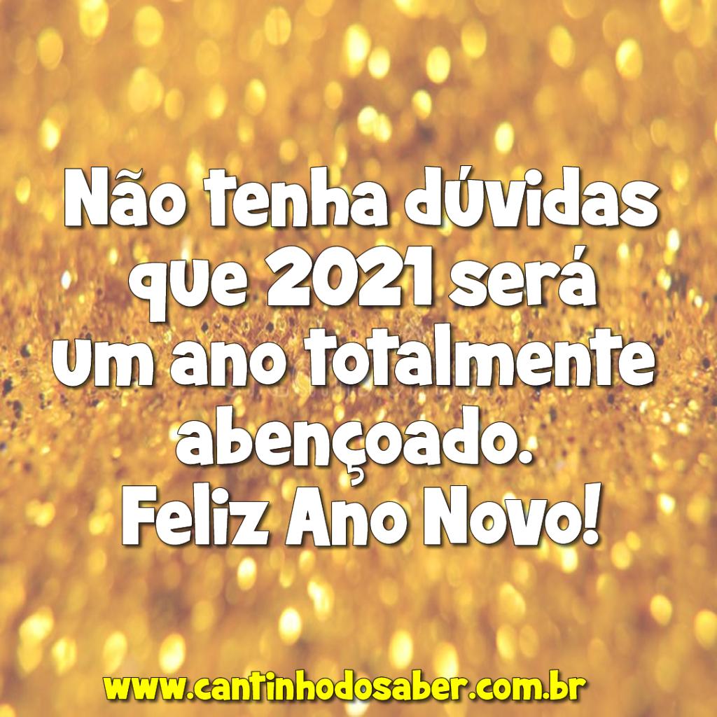 mensagem feliz ano novo 2021