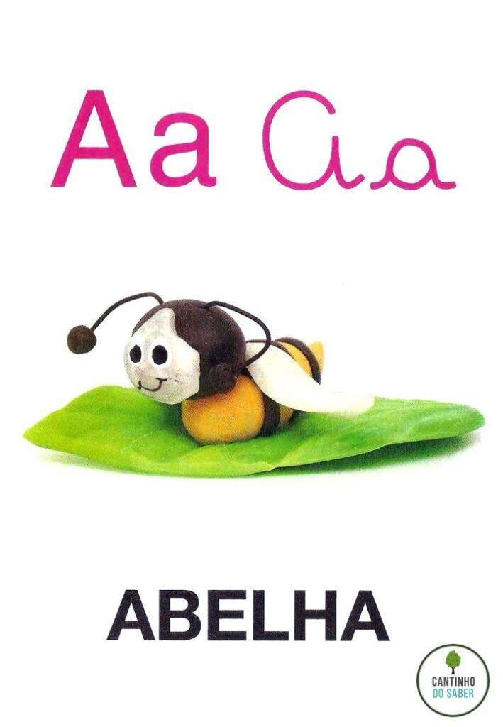 ALFABETO DE MASSINHA PARA IMPRIMIR