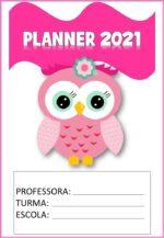 Planner 2021 da Corujinha para baixar grátis