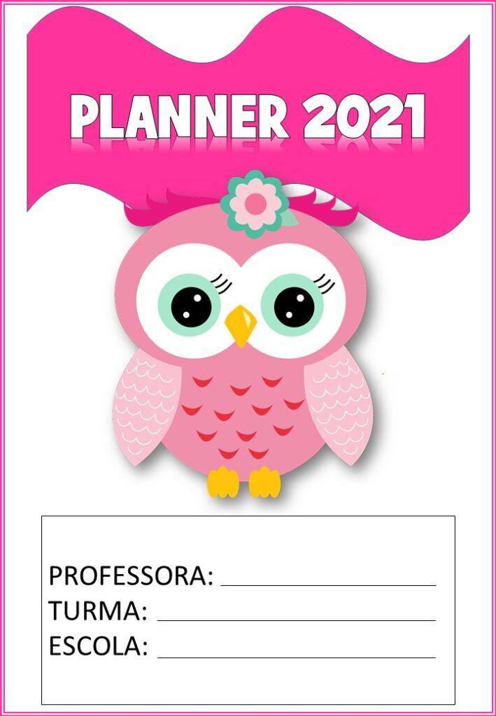 planner 2021 da corujinha completo capa