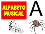 Alfabeto Musical com todas as letras