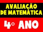 Avaliação de Matemática para o 4º ano / 1º Bimestre