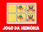 Jogo de memória do carnaval para imprimir e recortar 2021