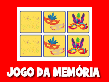 JOGO DA MEMORIA DO CARNAVAL 2021