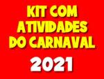 Pacote com atividades de carnaval 2021