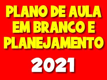 PLANO DE AULA E PLANEJAMENTO