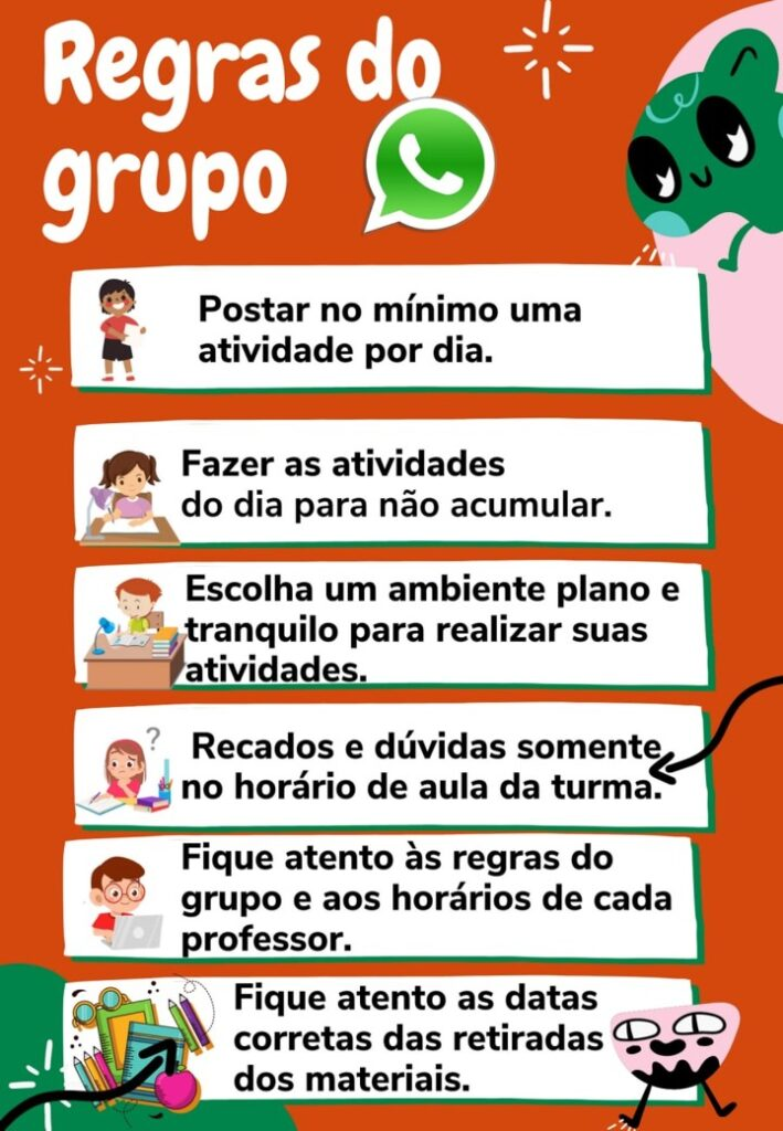 REGRINHAS DO GRUPO DAS AULAS ONLINE