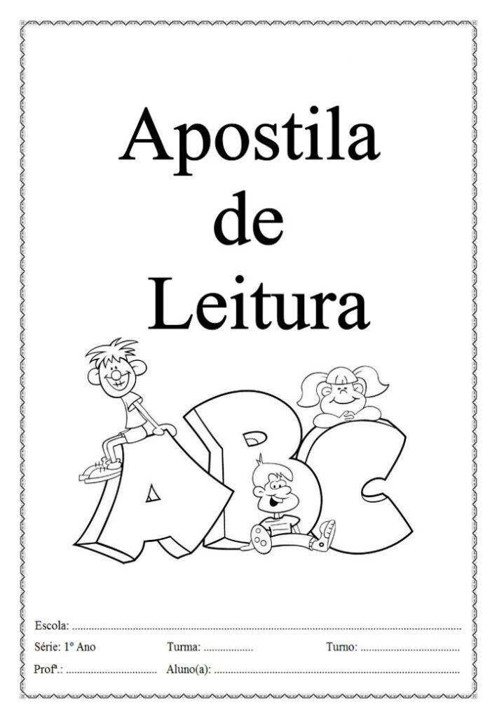 APOSTILA DE LEITURA E ALFABETIZAÇÃO PARA O ENSINO FUNDAMENTAL