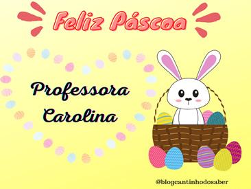 FIGURINHA PARA O DIA DA PASCOA PARA PROFESSORES