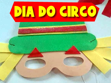 LEMBRANCINHAS PARA O DIA DO CIRCO