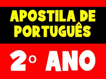 APOSTILA DE PORTUGUÊS 2 ANO