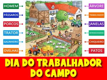 DIA DO TRABALHADOR DO CAMPO