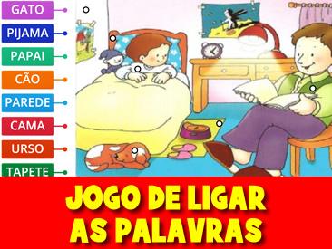 JOGO DE LIGAR AS PALAVRAS