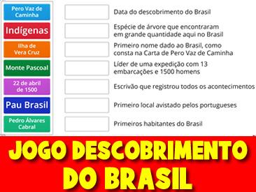 JOGO DO DESCOBRIMENTO DO BRASIL - PAREAMENTO