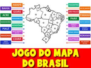 JOGO DO MAPA DO BRASIL
