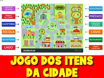 JOGO DOS ITENS DA CIDADE