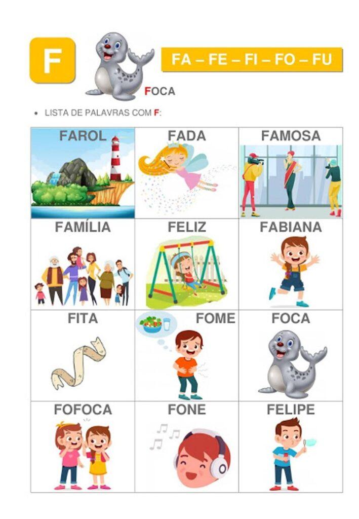 APOSTILA DE SILABAS SIMPLES