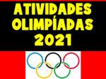 Atividades para trabalhar as olimpíadas 2021