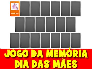 JOGO DA MEMÓRIA DO DIA DAS MÃES