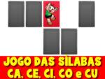 Jogo das sílabas com imagens – Sílaba CA, CE, CI, CO e CU