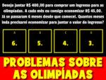 Probleminhas de matemática das olimpíadas 2021