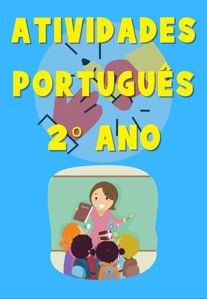 CADERNO DE ATIVIDADES PARA PORTUGUÊS 2 ANO