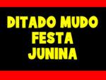 DITADO PARA FESTA JUNINA COM MATERIAL DE APOIO