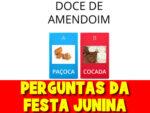 Jogo dos produtos típicos da festa junina
