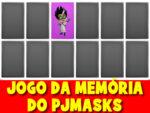 Jogo da memória do PJMASKS