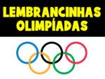 Lembrancinhas para os jogos olímpicos de 2021