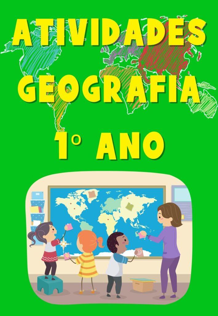 APOSTILA DE ATIVIDADES DE GEOGRAFIA PARA O 1 ANO